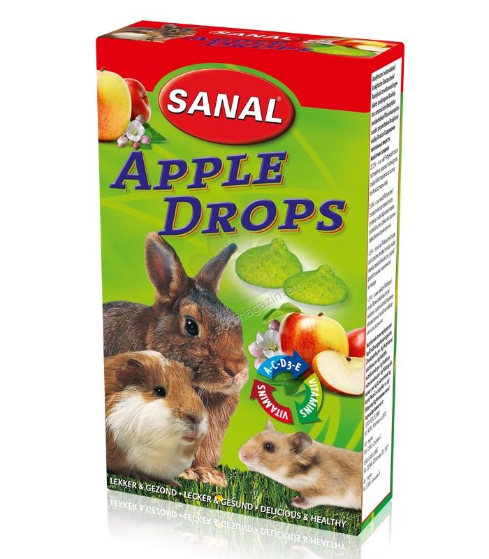 Sanal Rodent Apple Drops - лакомство с ябълки 45 гр.