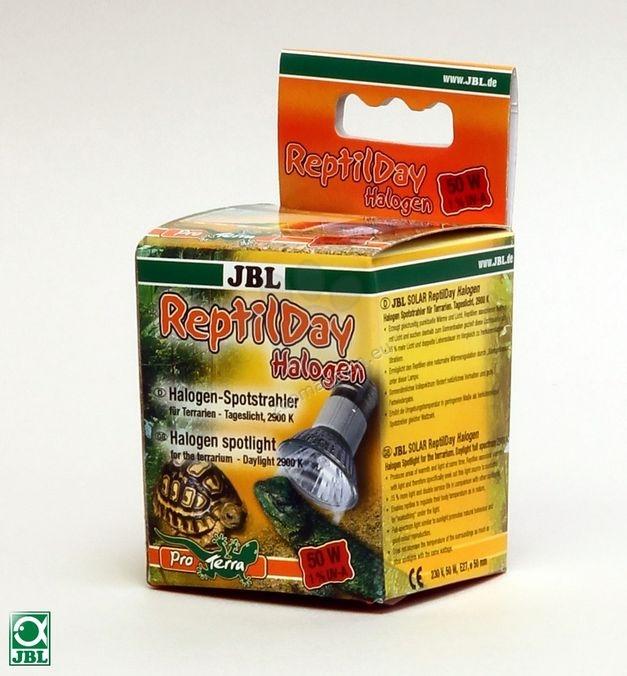 JBL ReptilDay Halogen 50W - халогенна крушка за терариум