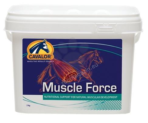 Cavalor Muscle Build / Force - ускорява и увеличава бързото натрупване на мускули 2 кг.