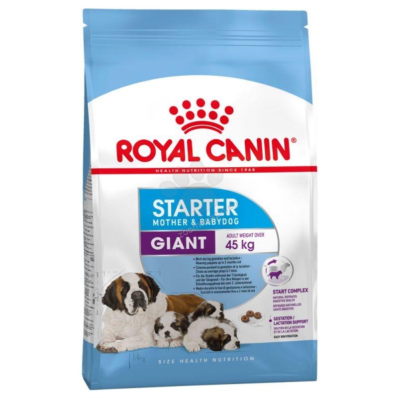 Royal Canin Giant Starter M&B - за кучки от края на бременността и по време на кърменето,както и за отбиване на кученца до 2 месеца 15 кг.