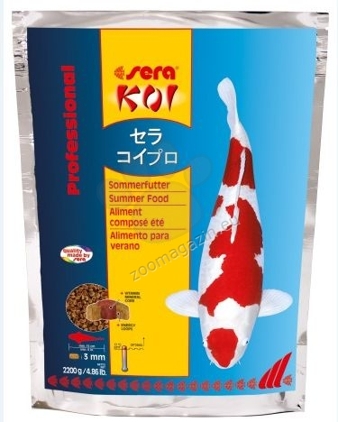 Sera  - Koi Summer Food - лятна храна 2200 гр.