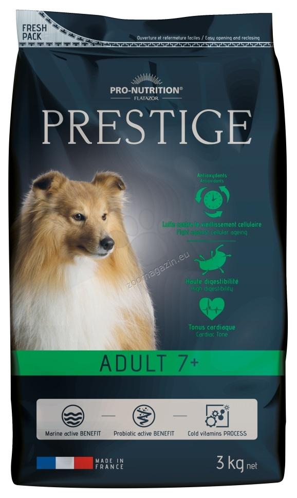 Flatazor Prestige Adult 7+ - пълноценна храна за кучета средни породи над 7 години 3 кг.