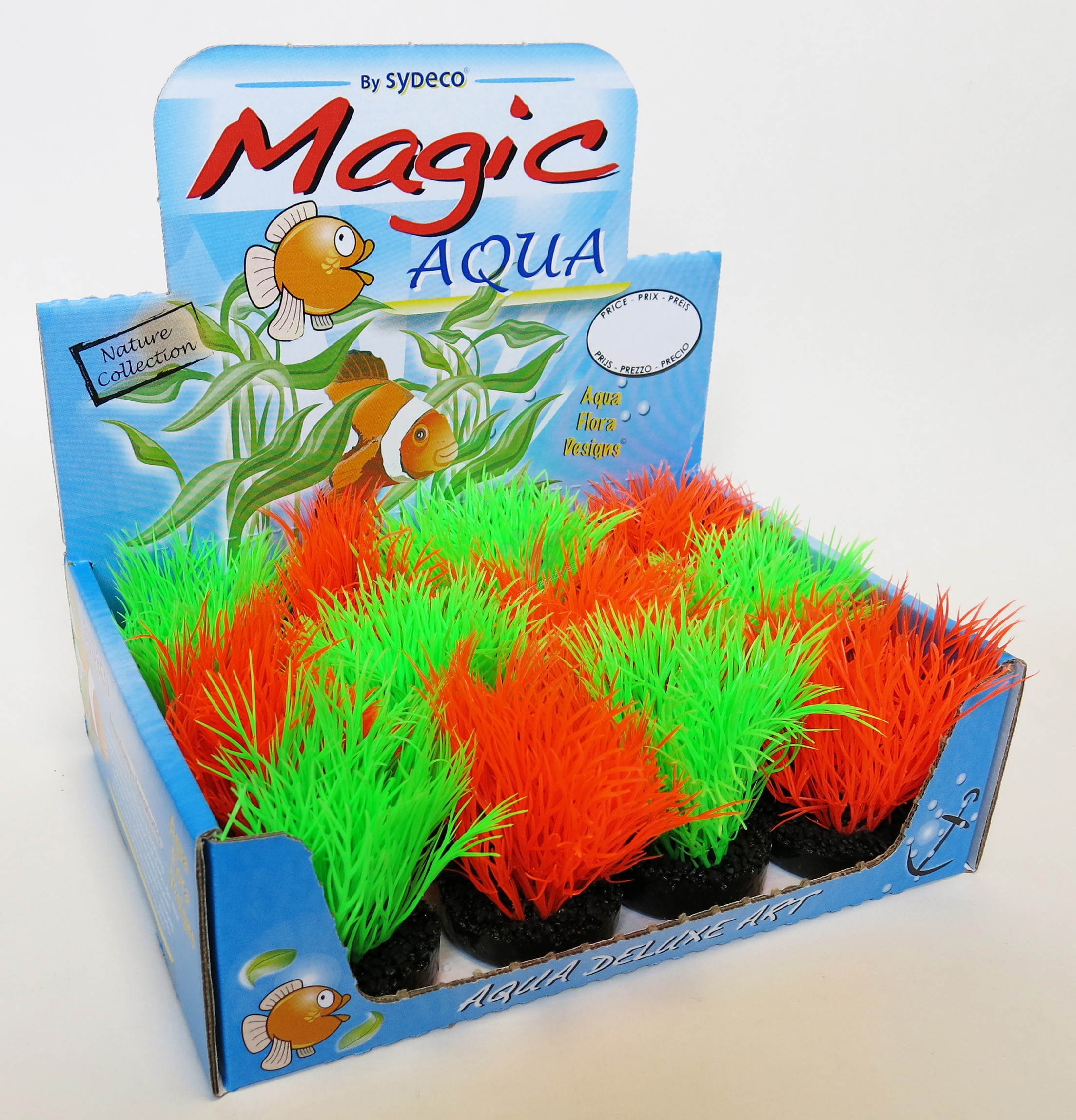 Sydeco Magic Aqua Fun 11 см. / зелено, оранжево /