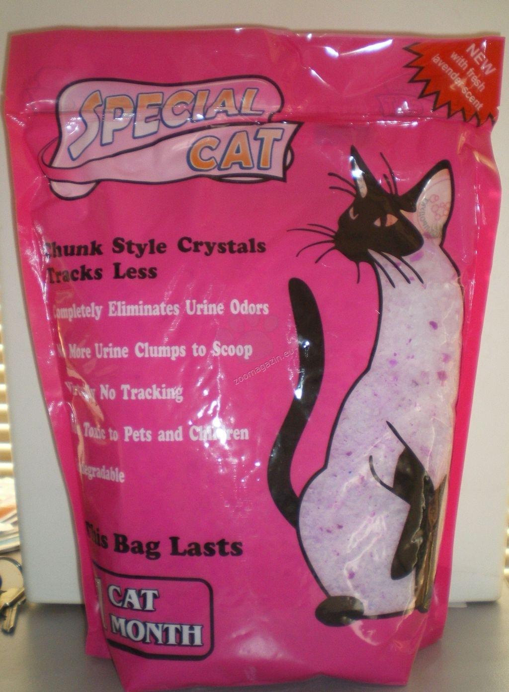 Zoomarket Special Cat Lavandula - силиконова котешка тоалетна, лавандула 3.8 литра
