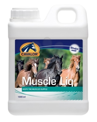 Cavalor Muscle Liq - помага за предотвратяване болезненост и дехидратация намускулите 1000 мл.