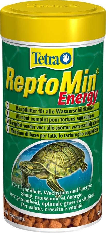 Tetra - ReptoMin Energy - енергийна храна за земноводни костенурки 250 мл.