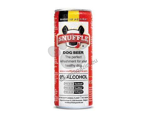 Snuffle Dog beer can mixed - кучешка бира с вкус на говеждо и пилешко месо 250 мл.