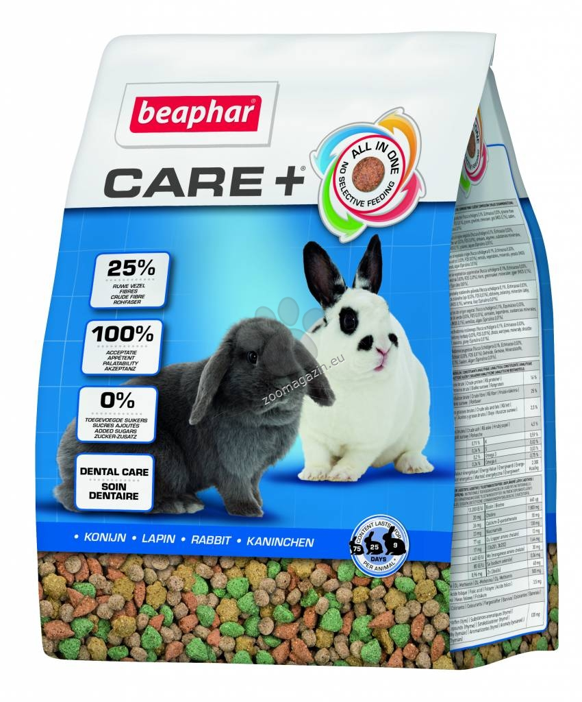 Beaphar Care Super Premium - храна за мини зайчета 250 гр.