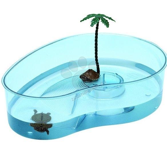 Ferplast - Plastic turtle bowls Arricot - пластмасов аквариум за костенурки  31 / 22 / 7,5 cm