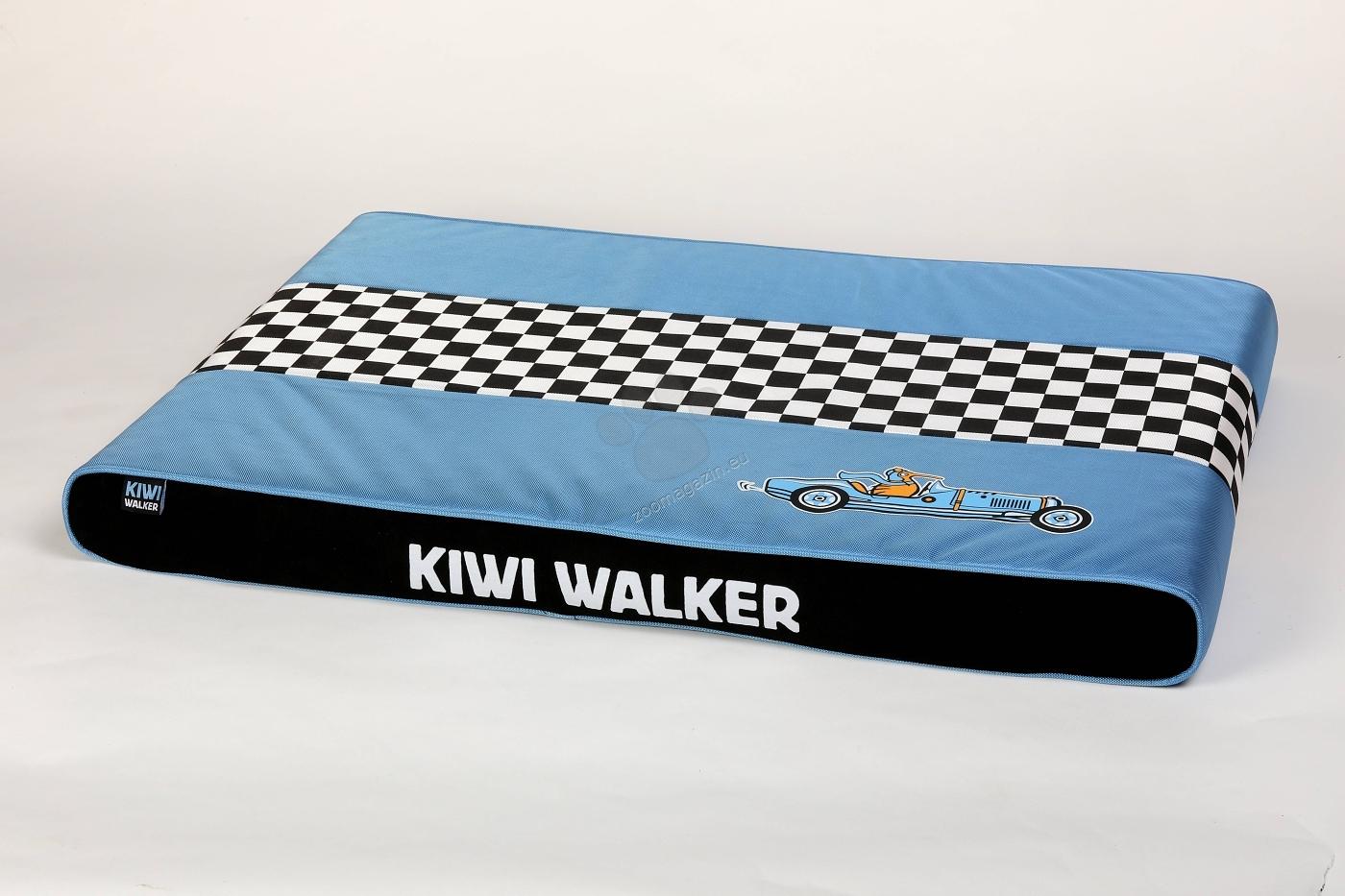 Kiwi Walker Mattress Racing XL - водонепромокаем ортопедичен матрак с мемори пяна 95 / 65 / 9 см. / червен, син, зелен, оранжев /