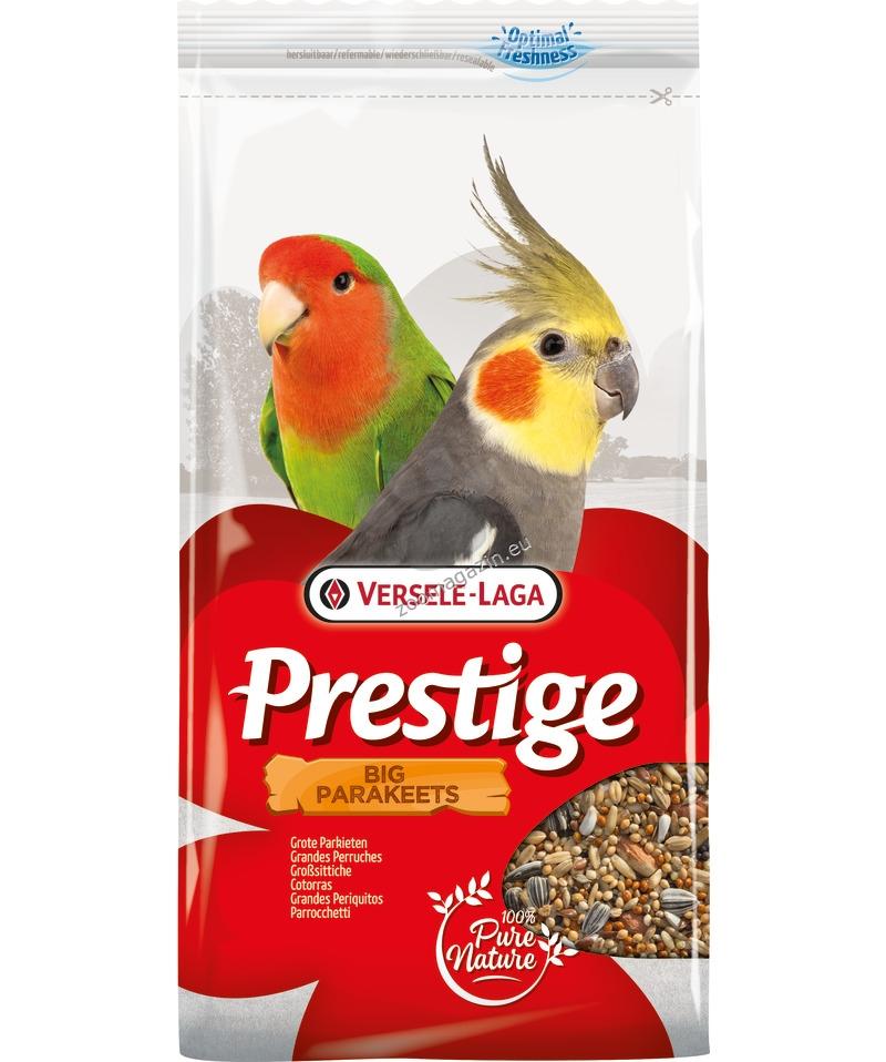 Versele Laga - Prestige Big Parakeets - пълноцена храна за средни папагали 1 кг.