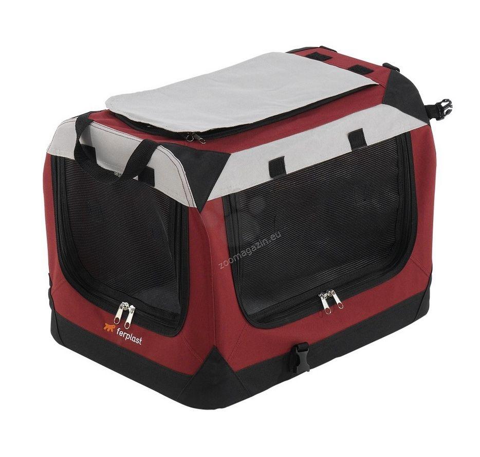 Ferplast - Holiday 6 - сгъваема транспортна чанта от плат 70 / 52 / 52 cm
