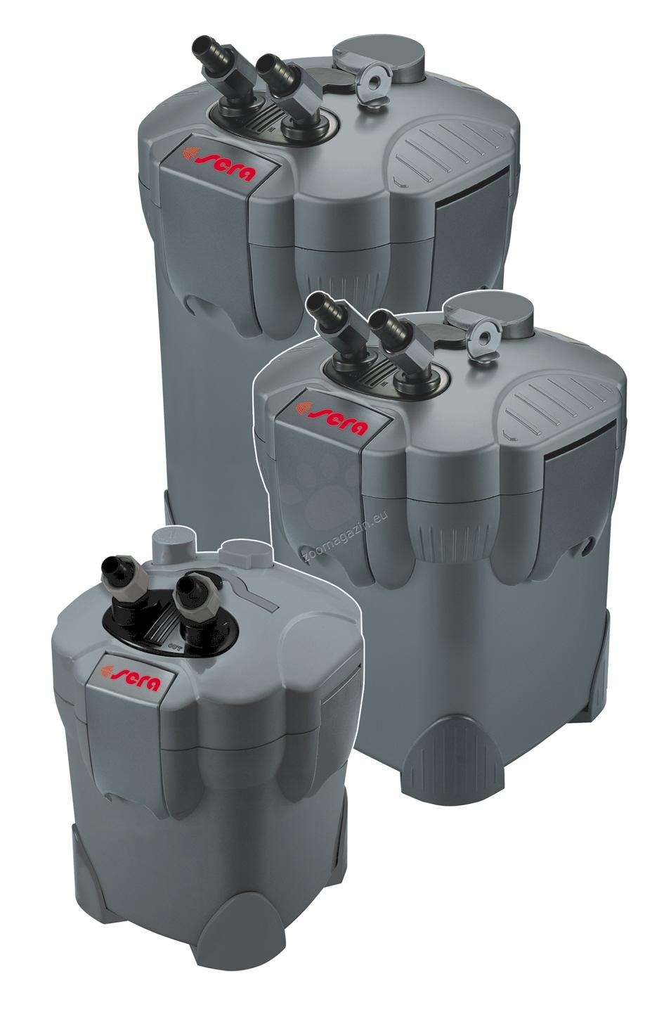Sera - Fil Bioactive 130 + UV - външен филтър с интегрираната UV-C система 300 л/ч. за аквариуми до 130 л.