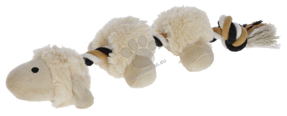 Kerbl Shaggy Lamb - плюшна играчка с въже 39 см.