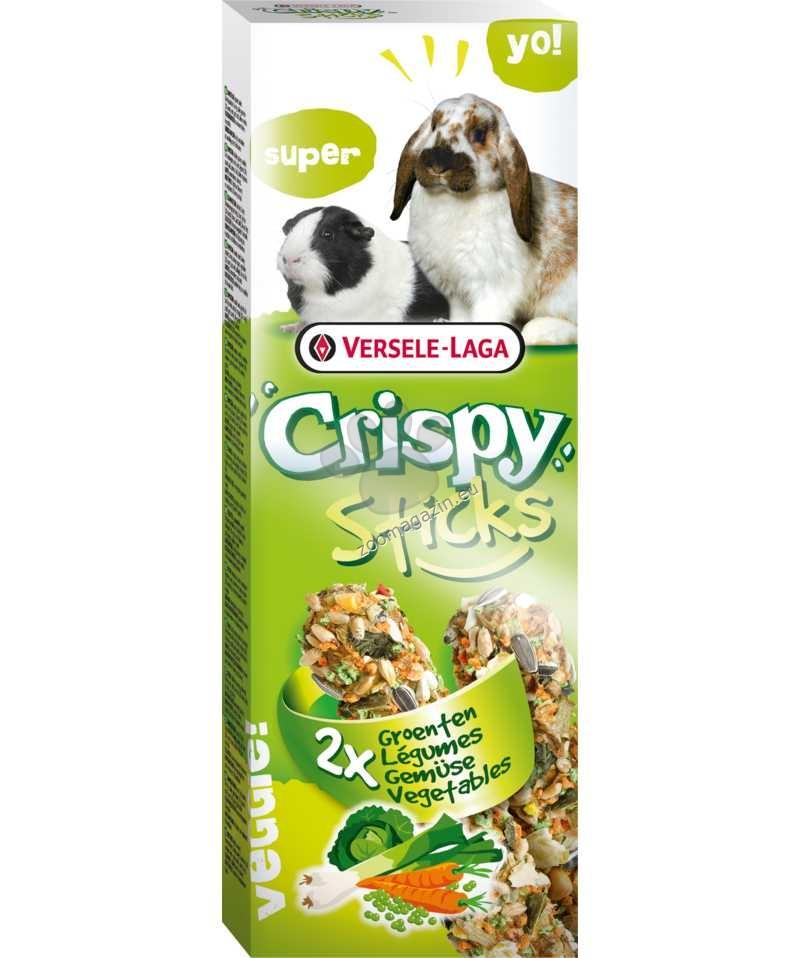 Versele Laga - Crispy Sticks Vegetables - крекери със зеленчуци - 2 х 55гр