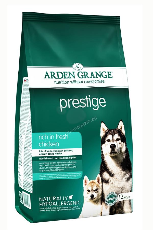Arden Grange - Prestige Chicken - богата на прясно пилешко месо, за кучета над 12 месеца 12 кг.
