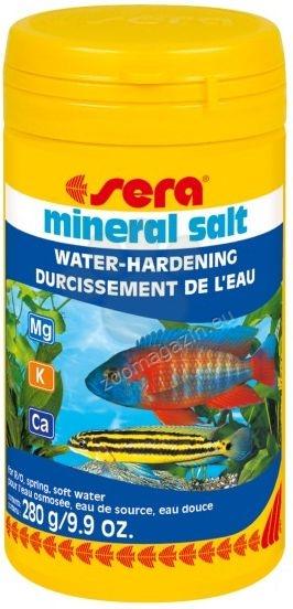 Sera - Mineral Salt - за безопасно обогатяване с минерали на ниско минерализирана вода 280 гр.