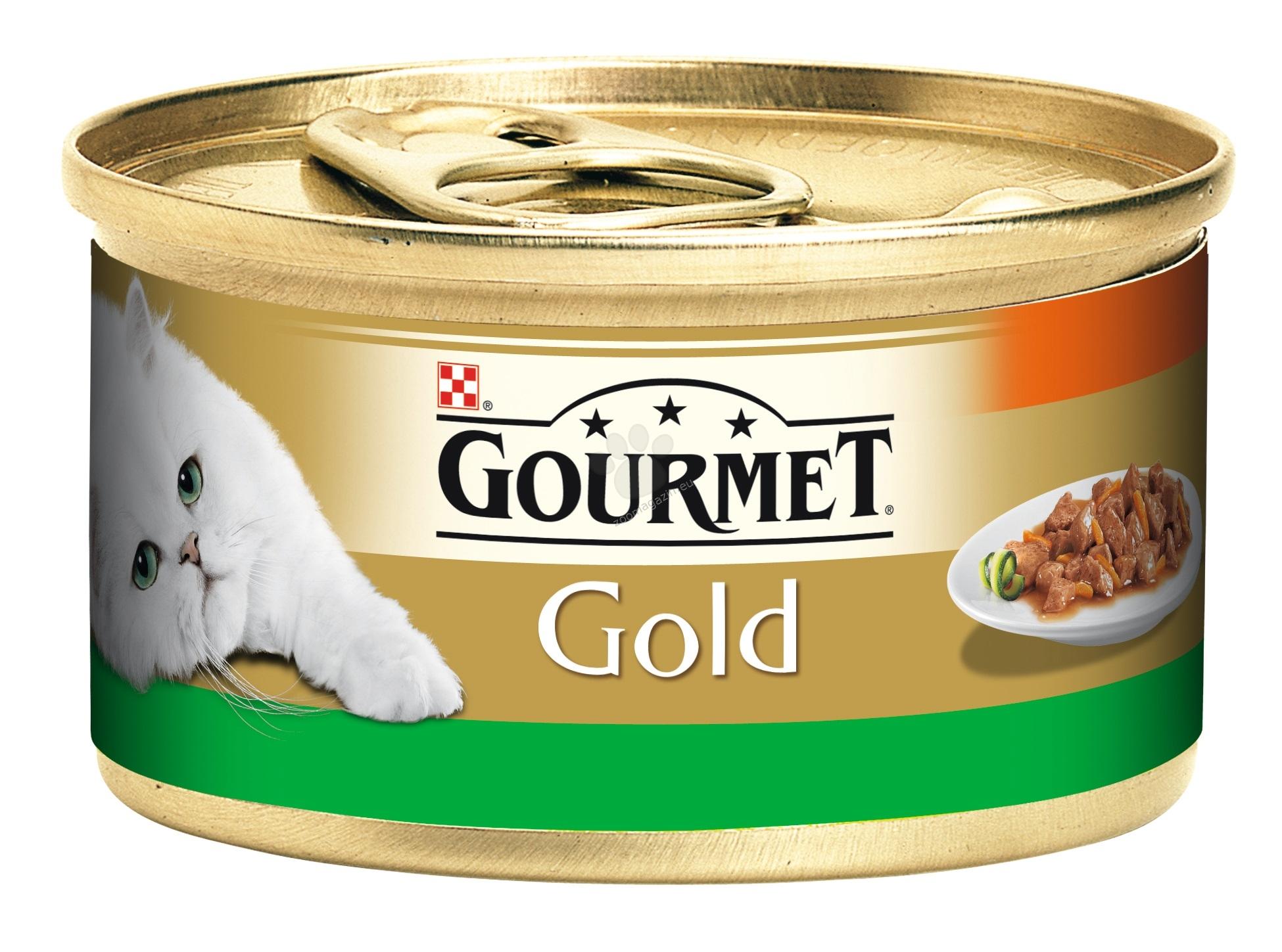 Gourmet Gold Savoury Cake chicken and carrots - с пилешко месо и моркови 24 х 85 гр. / стек /