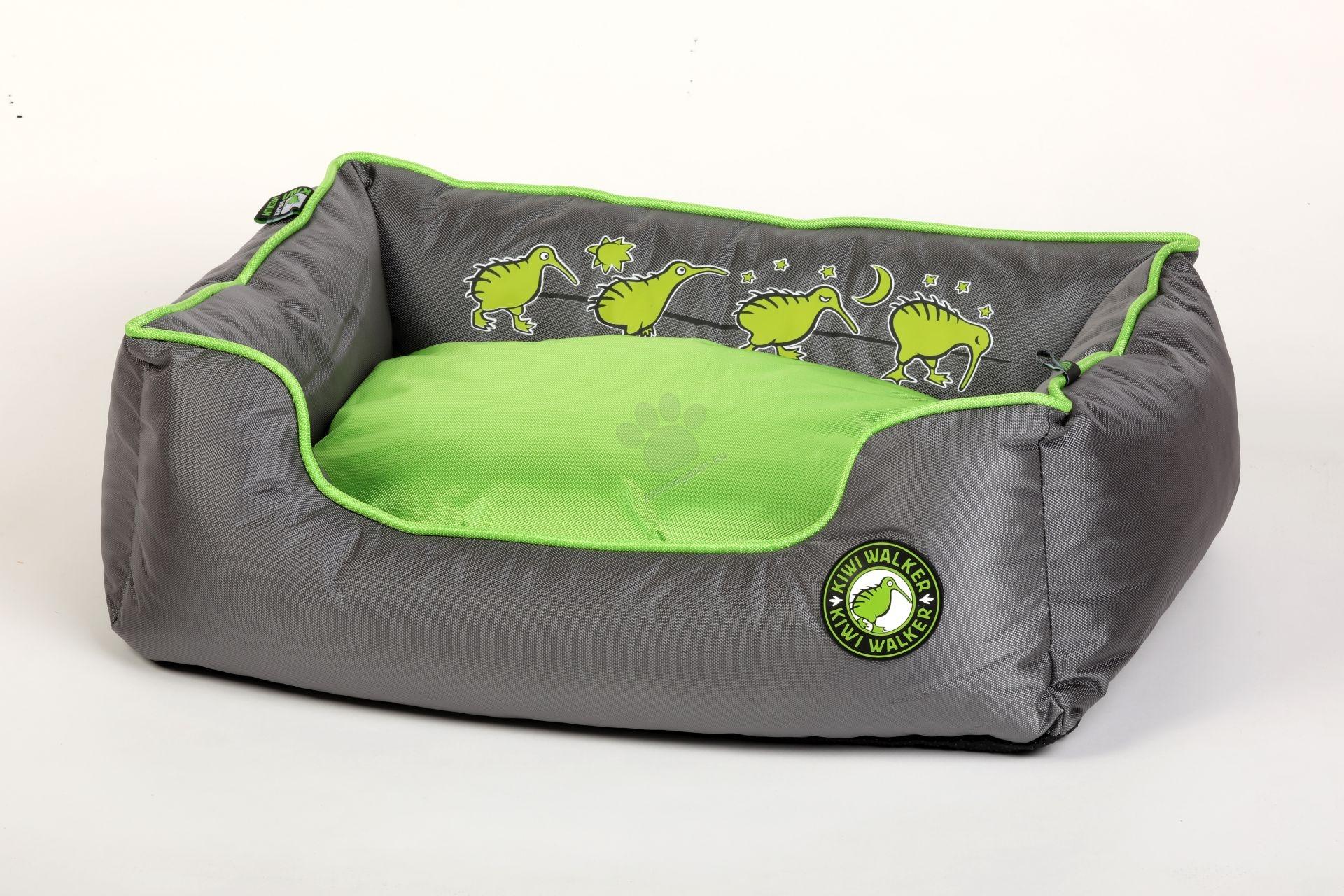Kiwi Walker Bed Running XXL - ортопедично легло с мемори пяна 110 / 80 / 30 см. / розов, оранжев, зелен /