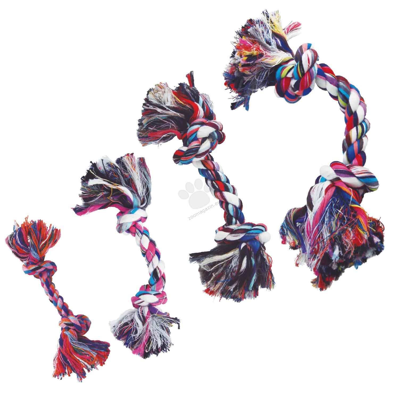 Gloria Cotton rope - памучно въже с 2 възела, 10 мм х 13 см