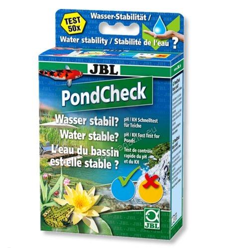 JBL PondCheck - бърз тест за рН и KH за езерна вода, за 50 измервания
