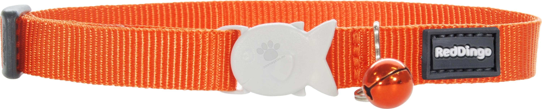 Red Dingo Cat Collar Classic Orange - котешки нашийник, 12 мм х 20-32 см