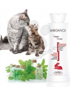 Biogance Fleas Away Cat 250 ml. - Εντομοαπωθητικό Σαμπουάν για γάτες