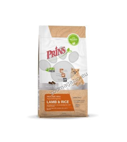 Prins ProCare Mini Lamb & Rice hypoallergic - препоръчва се за кучета от дребните породи с чувствителна кожа и козина 7.5 кг.