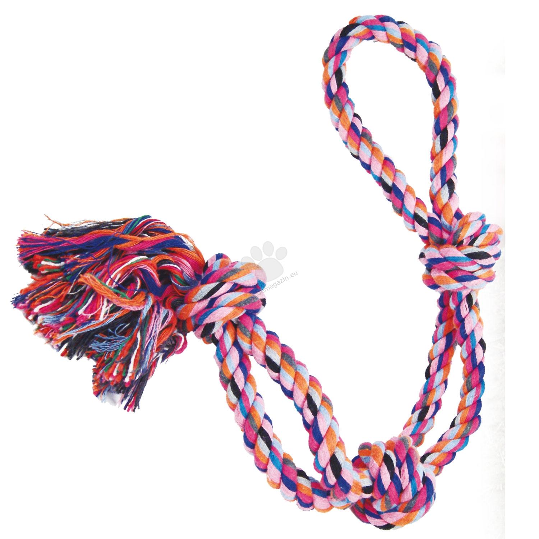 Gloria Cotton Rope - памучно въже - 2 въжета, 3 възела, 16 мм х 64 см