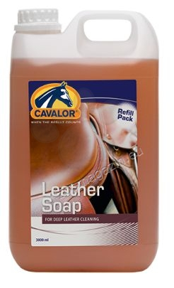Cavalor Leather Soap - течен сапун на глицеринова основа за ослепително чисти кожени повърхности (седла и др.) 500 мл.