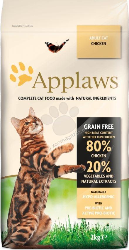 Applaws Chicken Adult Cat - πλήρης τροφή για γάτες άνω των 12 μηνών 2 κιλά