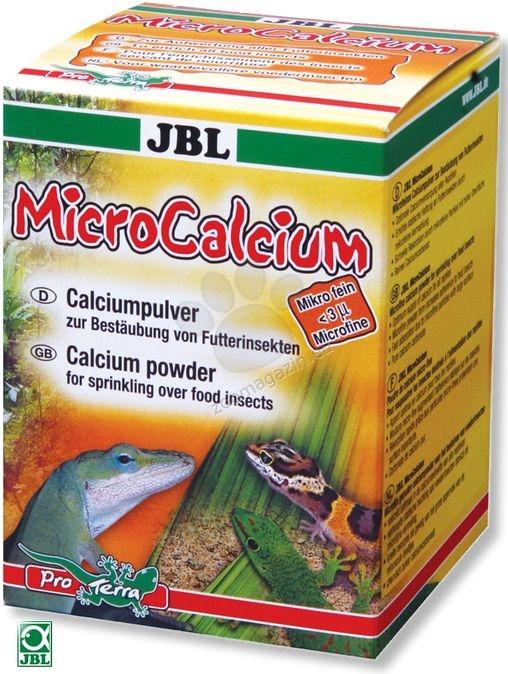 JBL Micro Calcium - калций на прах за всички видове влечуги 100 мл.