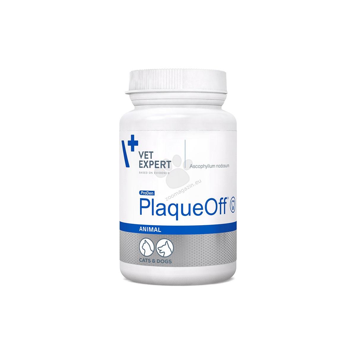 Vetexpert - PlaqueOff Animal - елиминира лошия дъх, забавя натрупването на зъбен камък и плака, патентована формула 40 гр.