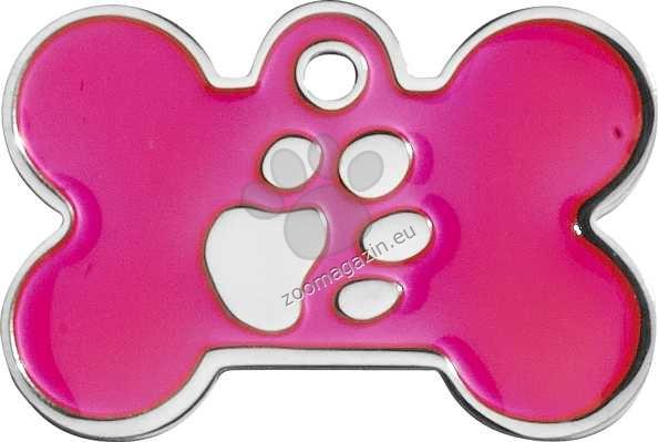 iMARC - Pink Elegance Bone Silver