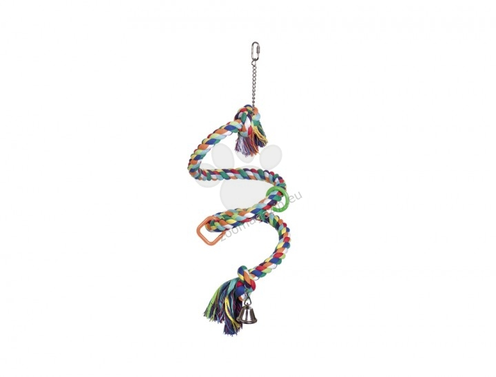 Nobby Schaukel Spirale - играчка за средни и големи папагали 115 см.