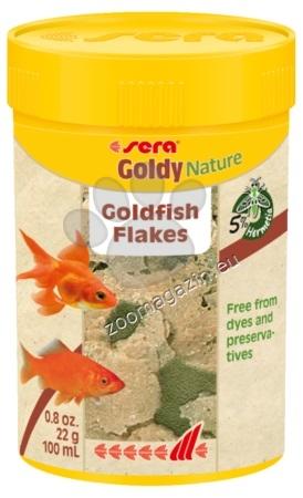 Sera Nature Goldy - основна храна за златни рибки без оцветители и консерванти 100 мл
