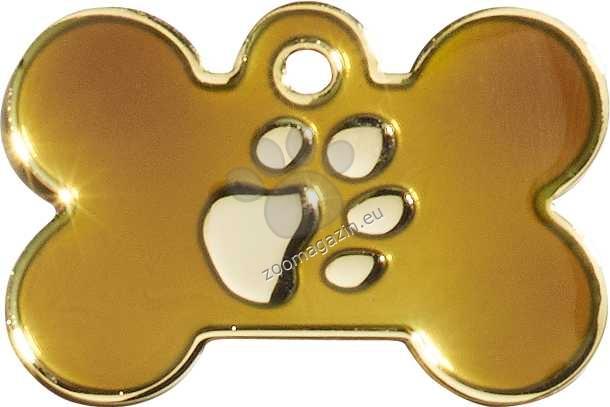 iMARC - Brown Elegance Bone Gold