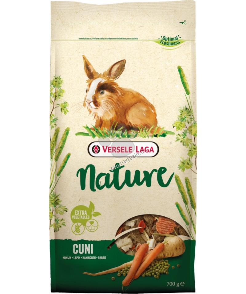 Versele Laga - Nature Cuni - пълноценна храна за мини зайчета 700 гр.