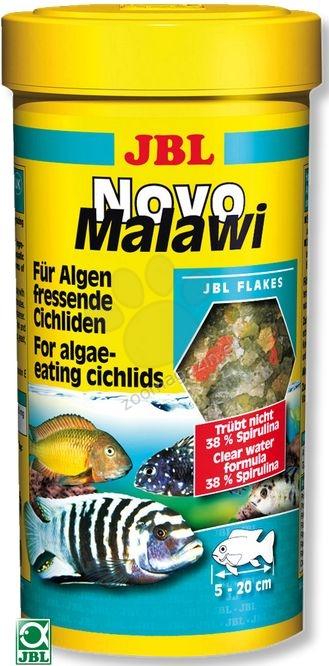 JBL NovoMalawi - храна за растителноядни африкански цихлиди 250 мл.
