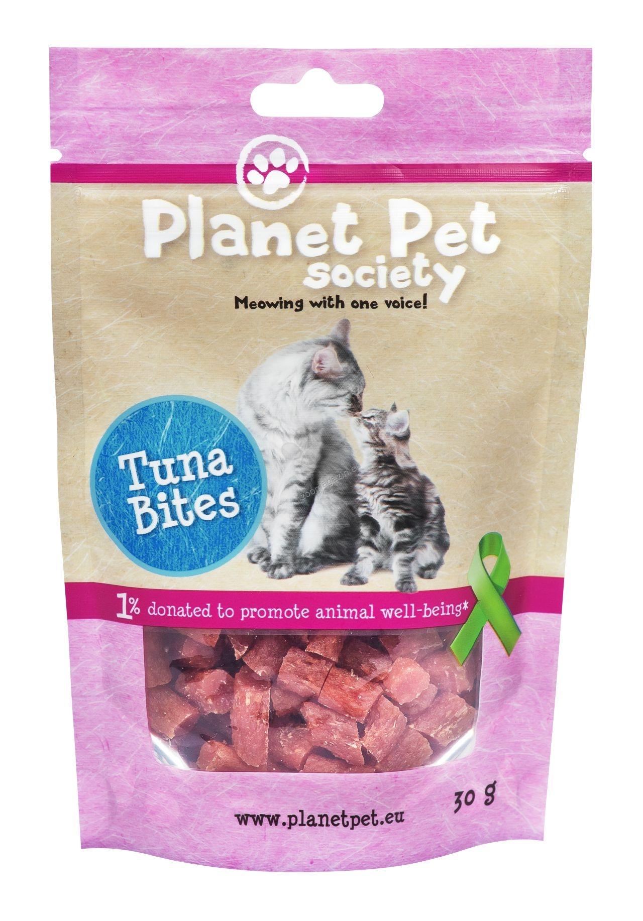 Planet Pet Meaty Tuna bite - месни хапки риба тон 30 гр.