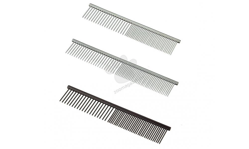 Camon Chromium-plated comb - μεταλλική επιχρωμιωμένη χτένα - 19 εκατοστά