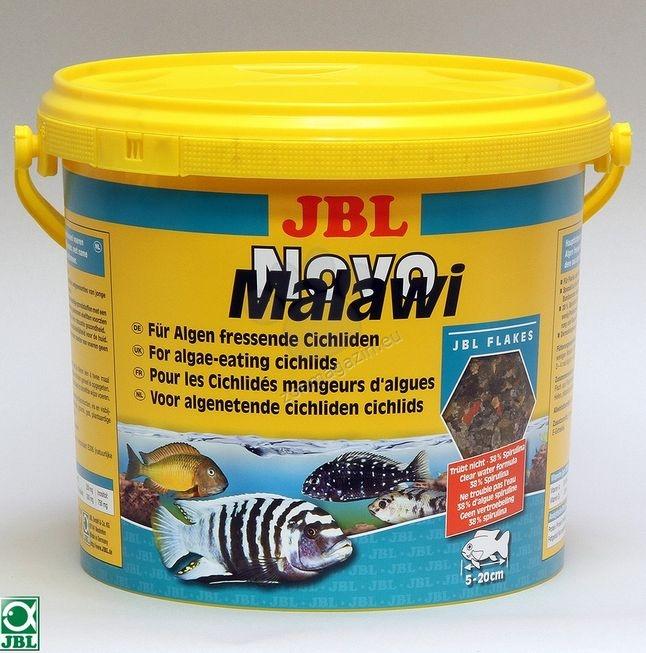 JBL NovoMalawi - храна за растителноядни африкански цихлиди  5500 мл.