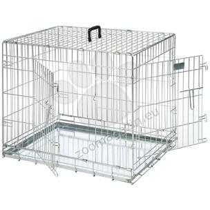 Flamingo Wire Dog 2 Doors - μεταλλικό αναδιπλούμενο κλουβί με δύο πόρτες 77 / 54 / 47 cm.