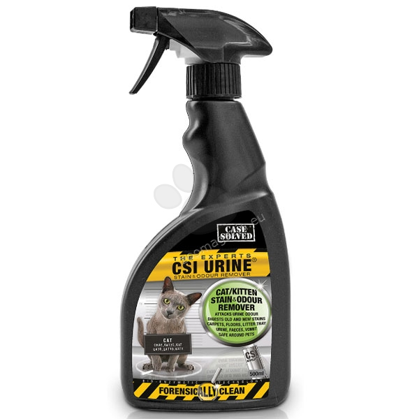 clean up cat pee home remedy