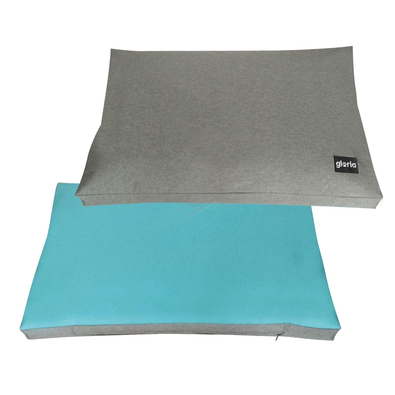 Gloria Quartz - мек дюшек 90 / 59 см. / синьо, розово, зелено /