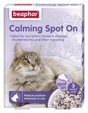 Beaphar Calming Spot On - успокояващи пипети 3 броя