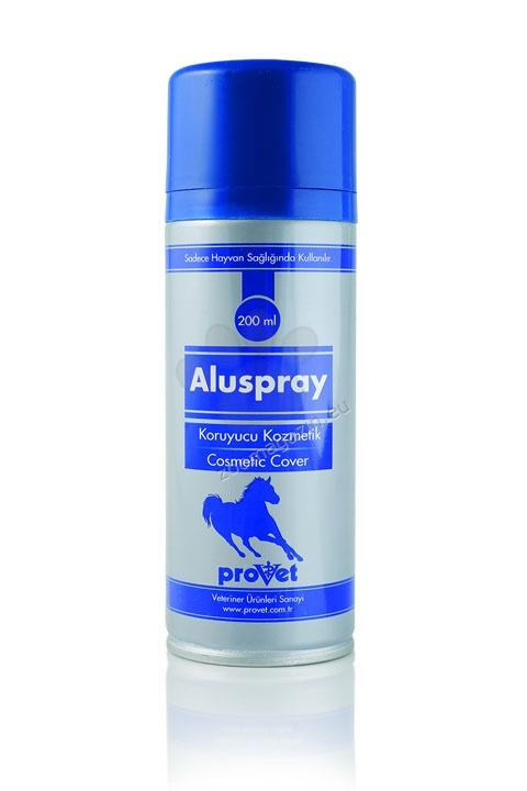 Aluspray - протективен, покривен спрей при локални кожни лезии 200 мл.