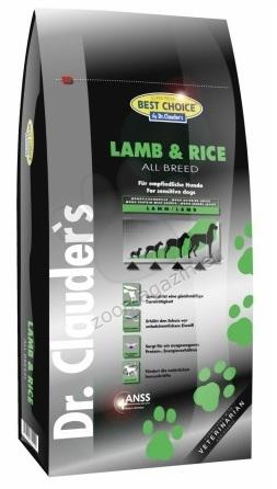 Dr.Clauder Super Premium Hyposensitive All Breed Lamb Rice - с агнешко месо и ориз, подходяща за всички породи кучета 350 гр.