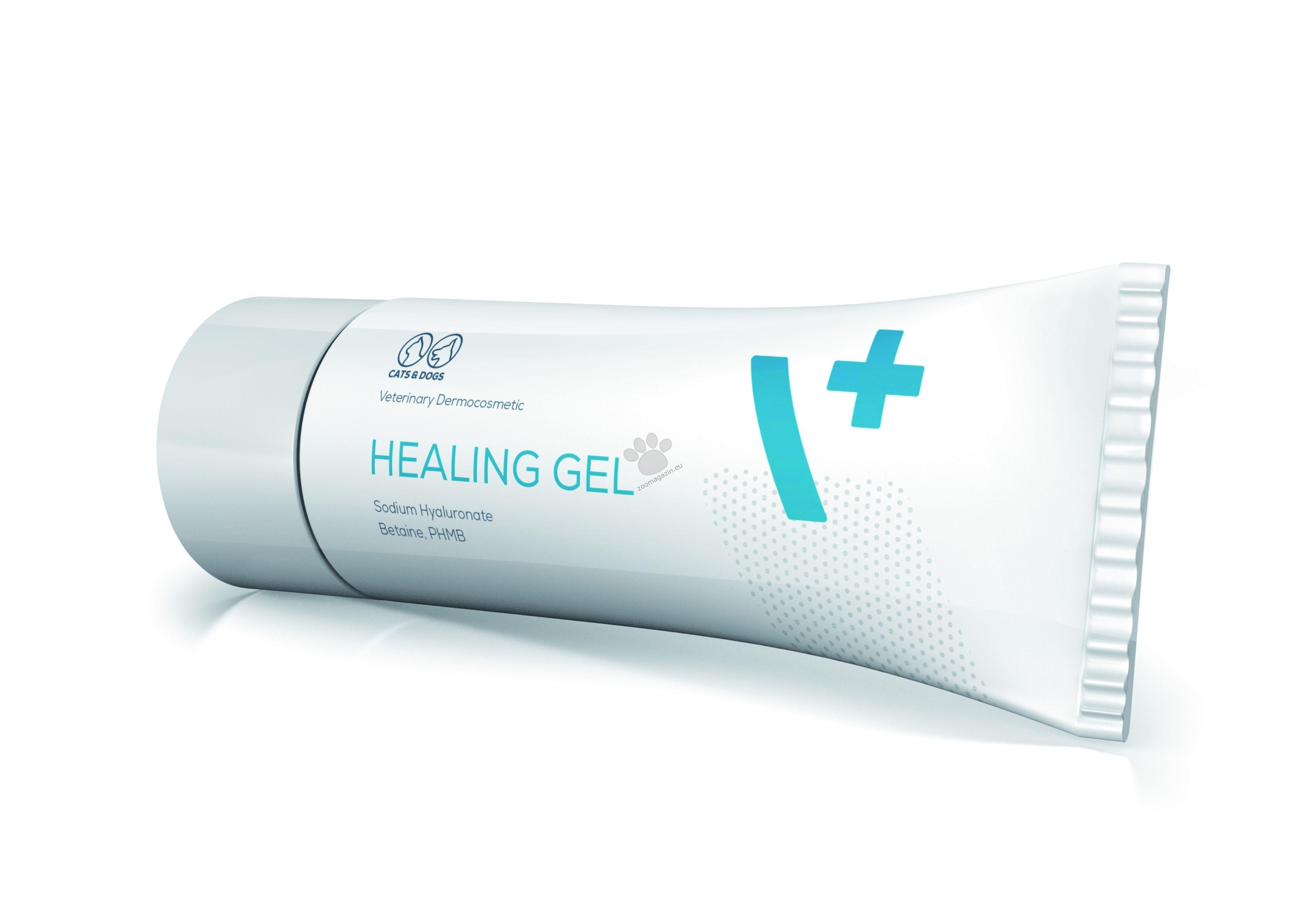 Vetexpert Healing Gel - гел за грижа и подпомагане на процеса на зарастване на различни типове рани при кучета и котки