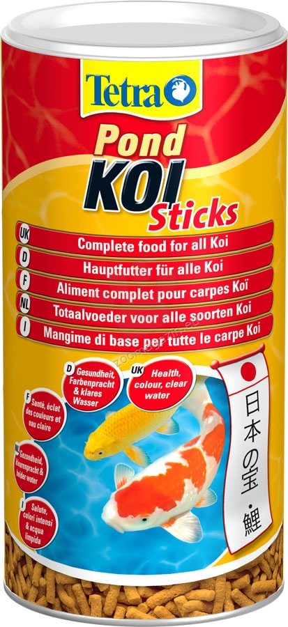 Tetra Pond Koi Stiks - πλήρης τροφή για Κοι 1000 ml